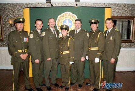 Policiers à l'honneur
