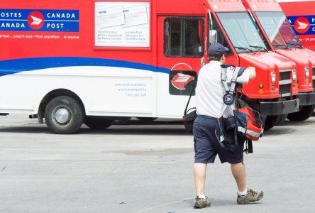 Postes Canada : la trêve de 30 jours est rejetée