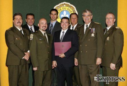 Quatre policiers de la SQ honorés