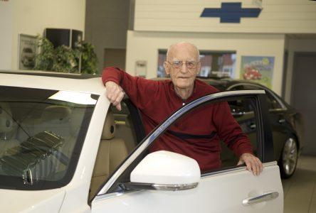 Les 100 ans du Garage Montplaisir et les 98 ans de Rodolphe Larocque