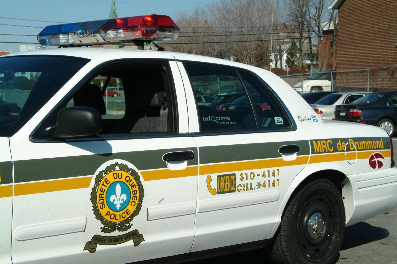 Le Drummondvillois Éric Nolet est arrêté et gardé détenu