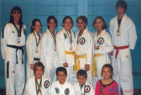 Taekwondo : les filles font honneur au Club Saint-Pierre