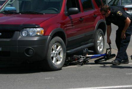 Les routes à basse limite de vitesse font le plus de victimes cyclistes