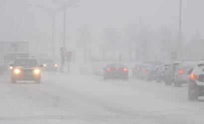 Une première bordée de neige d'importance au Québec