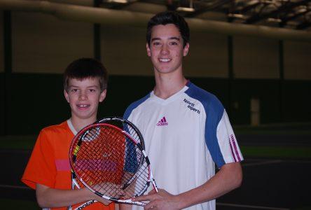 Tennis intérieur : Vaillancourt et Bachand en pleine ascension
