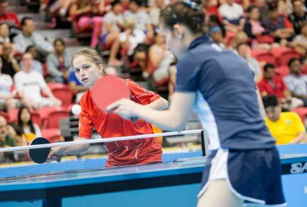 La qualification olympique de tennis de table à Drummondville?