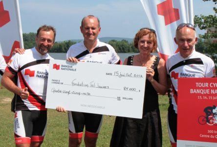 Le Tour cycliste Banque Nationale récolte 85 000 $