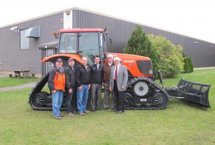 Le Moto Club Drummond acquiert un nouveau tracteur