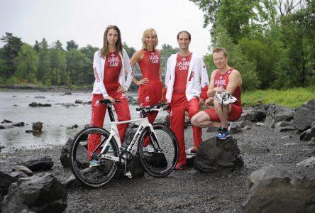 Quatre triathlètes drummondvillois en route vers le championnat du monde