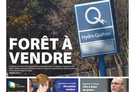 La une de L'Express du dimanche 26 octobre 2014
