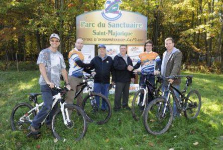 Des sentiers de vélo de montagne verront le jour dans le parc du Sanctuaire