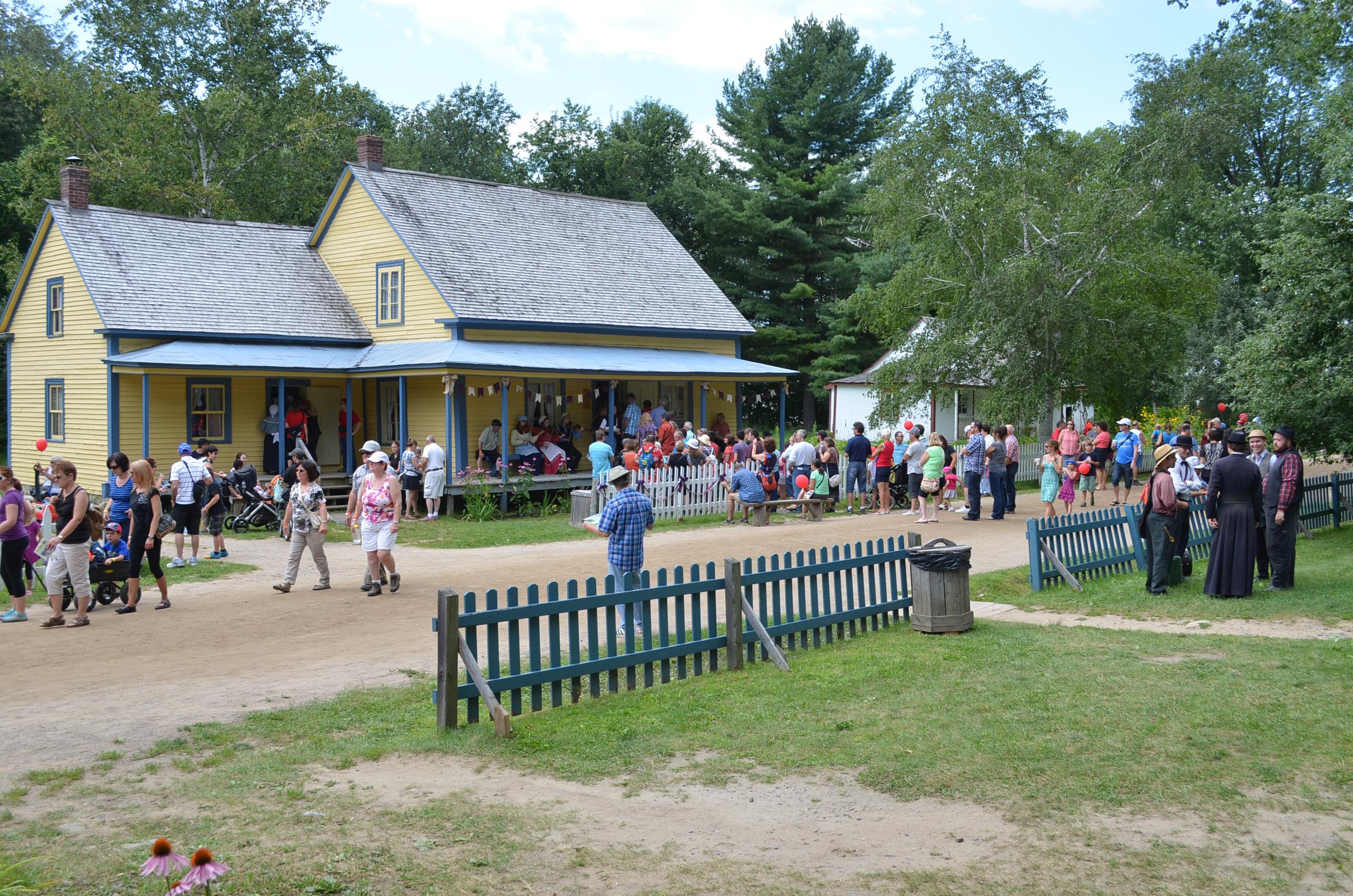 Le Village québécois d'antan ouvre ses portes aux Drummondvillois