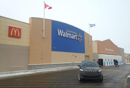 Un cas de COVID-19 au Walmart de Drummondville