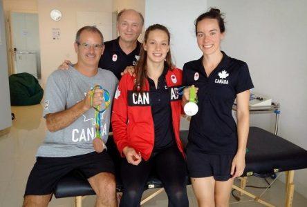 Soigner les muscles endoloris des médaillées olympiques