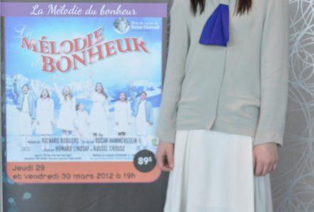 Frédérique Mousseau prend plaisir à fréquenter l'école des grands!