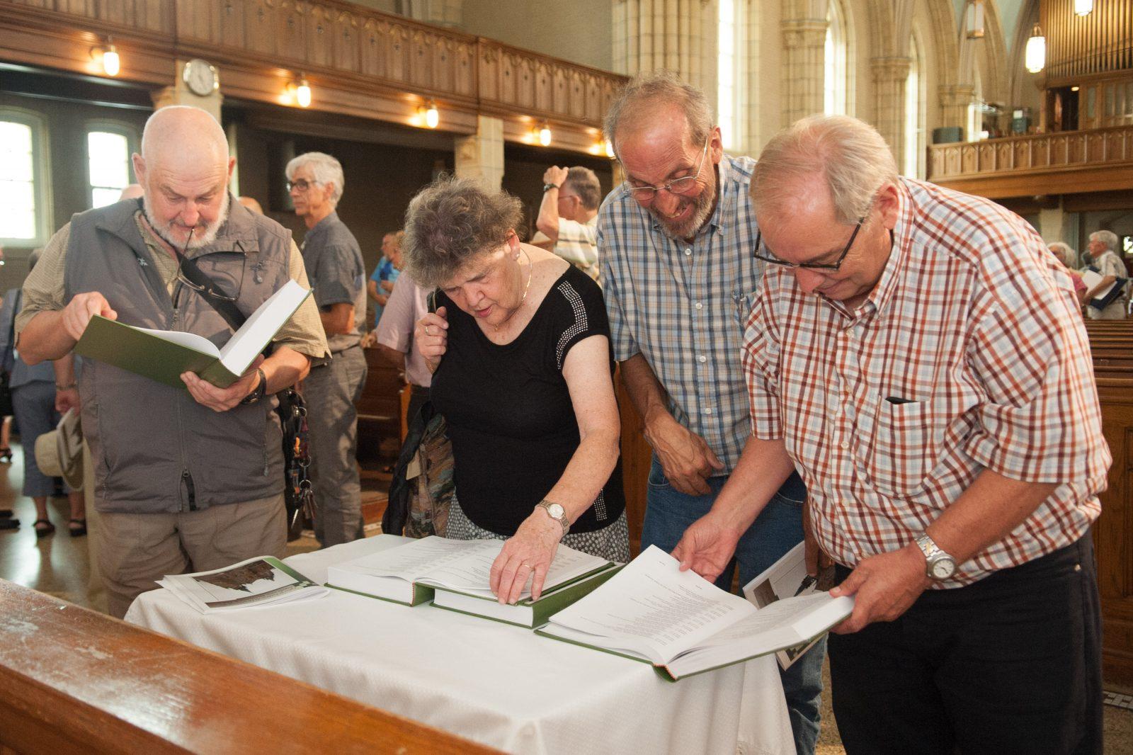La Société de généalogie s'est penchée sur l'église Saint-Frédéric