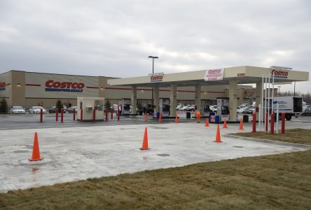 Costco ouvre sa station d'essence