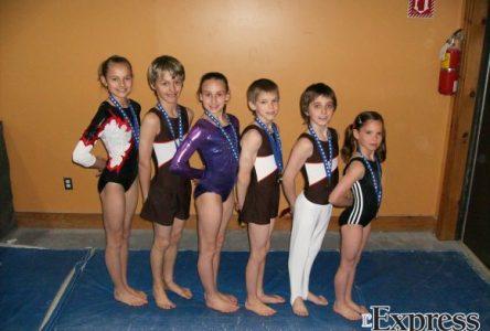De belles surprises au championnat provincial de gymnastique