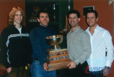 Drummondville s'impose au Tournoi de curling du Club sportif Celanese