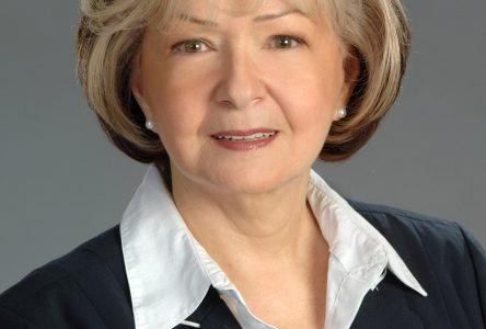 Diane Bourgeois se présente à la mairie de Saint-Lucien