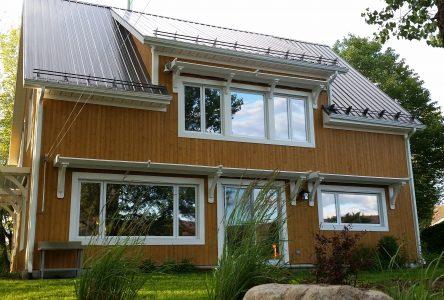 La maison solaire passive