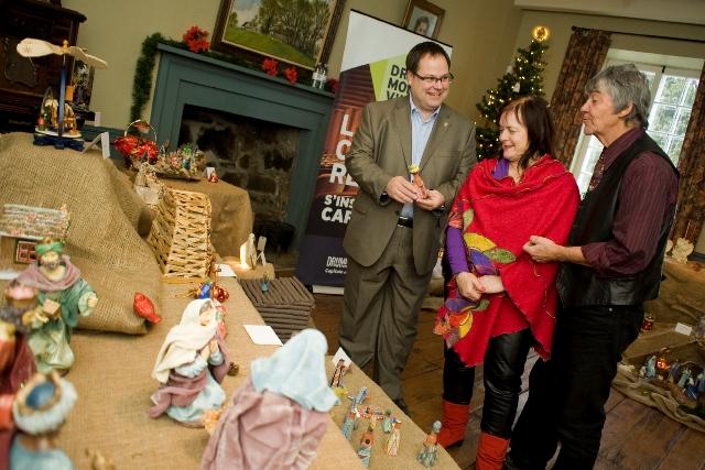 De 1000 à 1200 visiteurs attendus à la 5e exposition de crèches de Noël