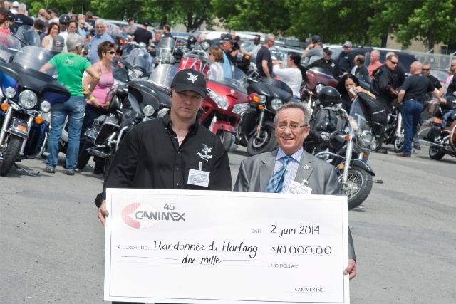 25 000 $ récoltés par Guy Lafleur et ses Harfangs