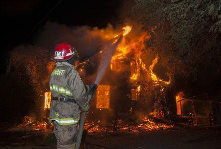 Une famille sauvée in extremis d'un incendie