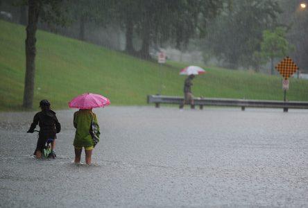 Inondations dispersées sur le territoire de Drummondville