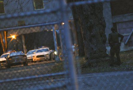 Intervention policière majeure à la Celanese