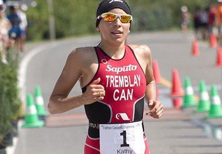 Kathy Tremblay survole le Triathlon Cascades (photos)