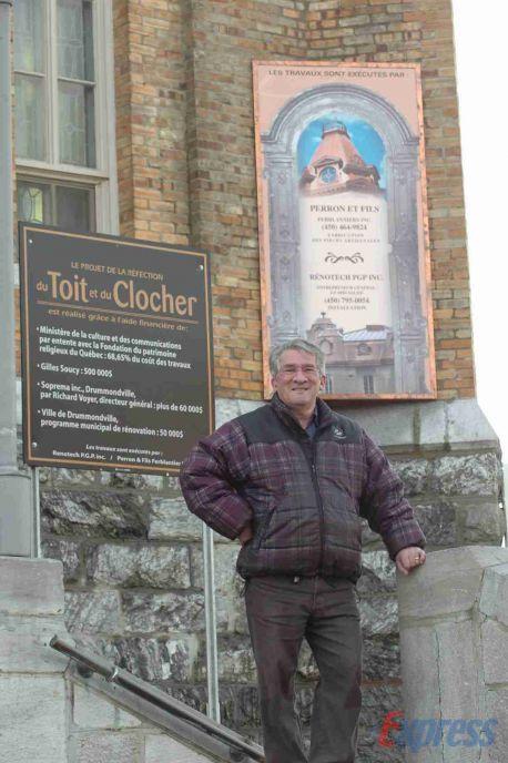 Le nouveau toit de l'église Saint-Frédéric devrait durer 125 ans