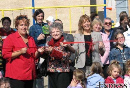 Le parc-école Roméo-Salois est le fruit d'un beau partenariat