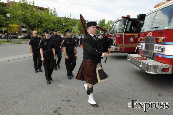 Les pompiers ont été assermentés dans l'honneur et la dignité (photos)