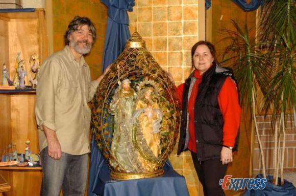 Leur passion : collectionner les crèches de Noël et en partager le plaisir