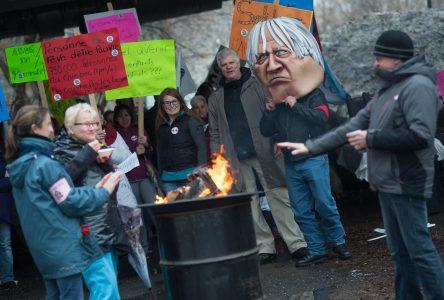 Des travailleurs de la santé dénoncent à l'unisson les mesures d'austérité