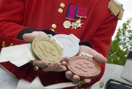 Des médailles toutes drummondvilloises pour les Jeux du Québec