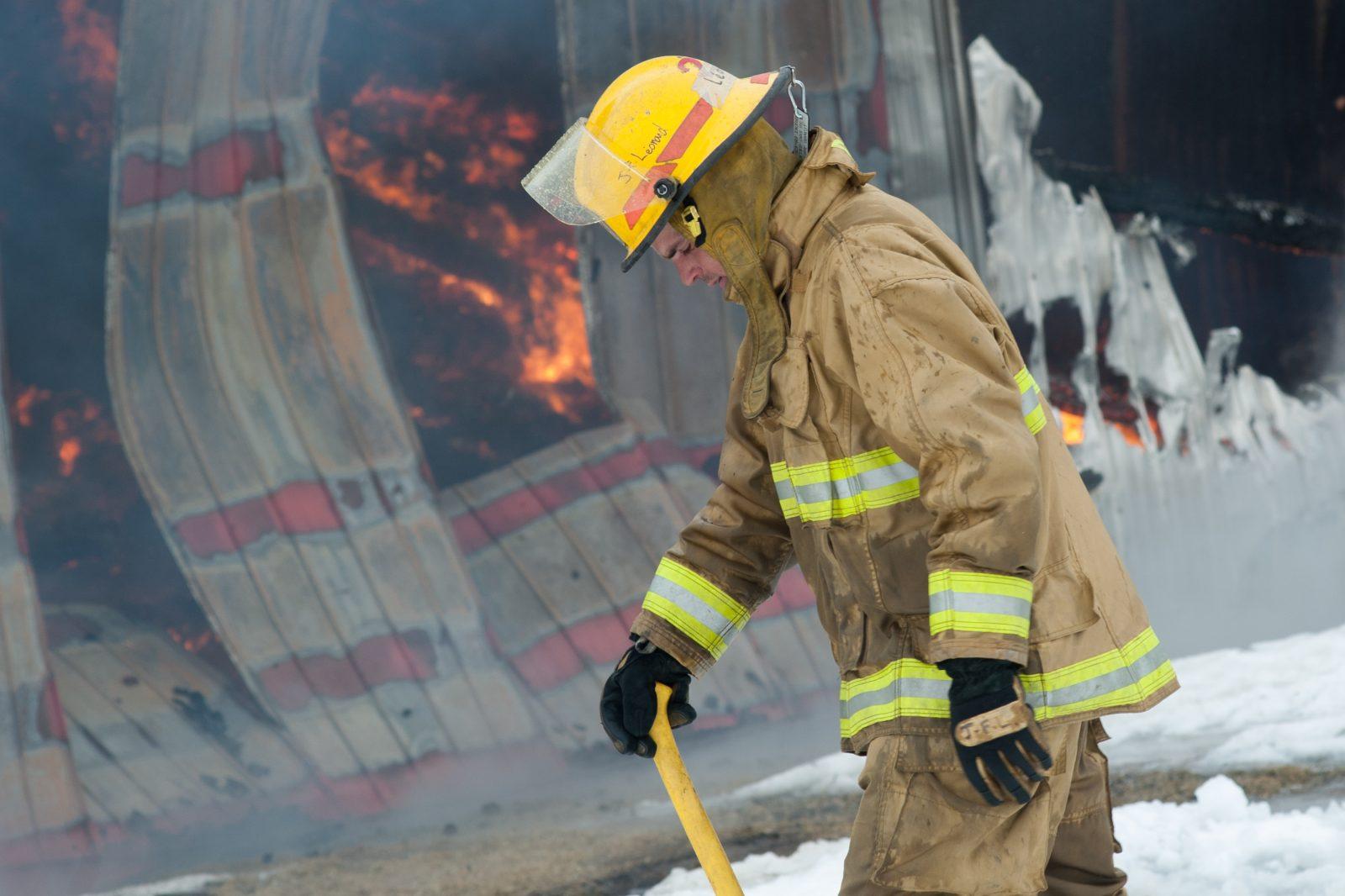 L'identité du corps dans l'incendie de la ferme laitière à Saint-Guillaume confirmée