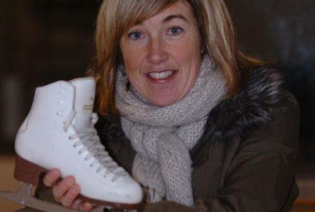 Sophie Richard et ses protégés en route vers Vancouver 2010