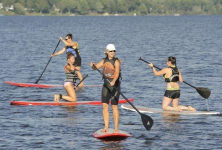 Le surf à pagaie arrive à Drummondville