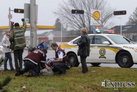 Un accident impliquant un vélo sur le boulevard Saint-Joseph fait un blessé