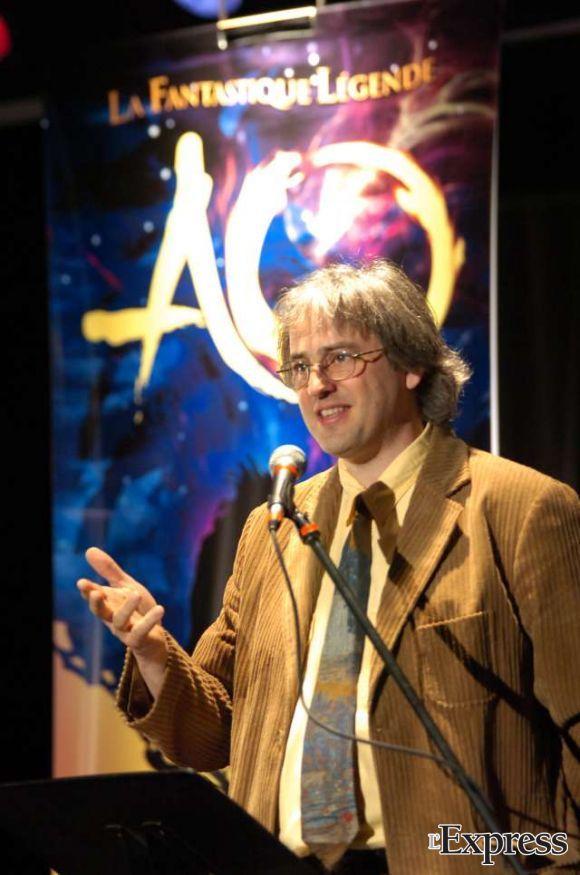 Yvon Bilodeau, l'homme d'expérience derrière la mise en scène d'AO La Légende