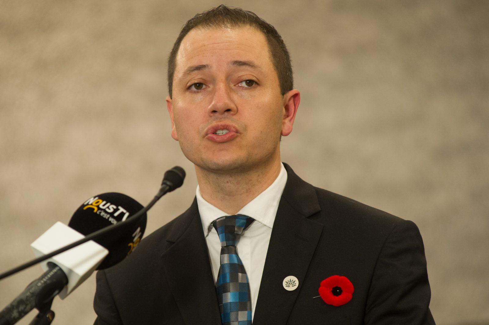Le nouveau président de l'Association libérale de Drummond voulait être candidat conservateur