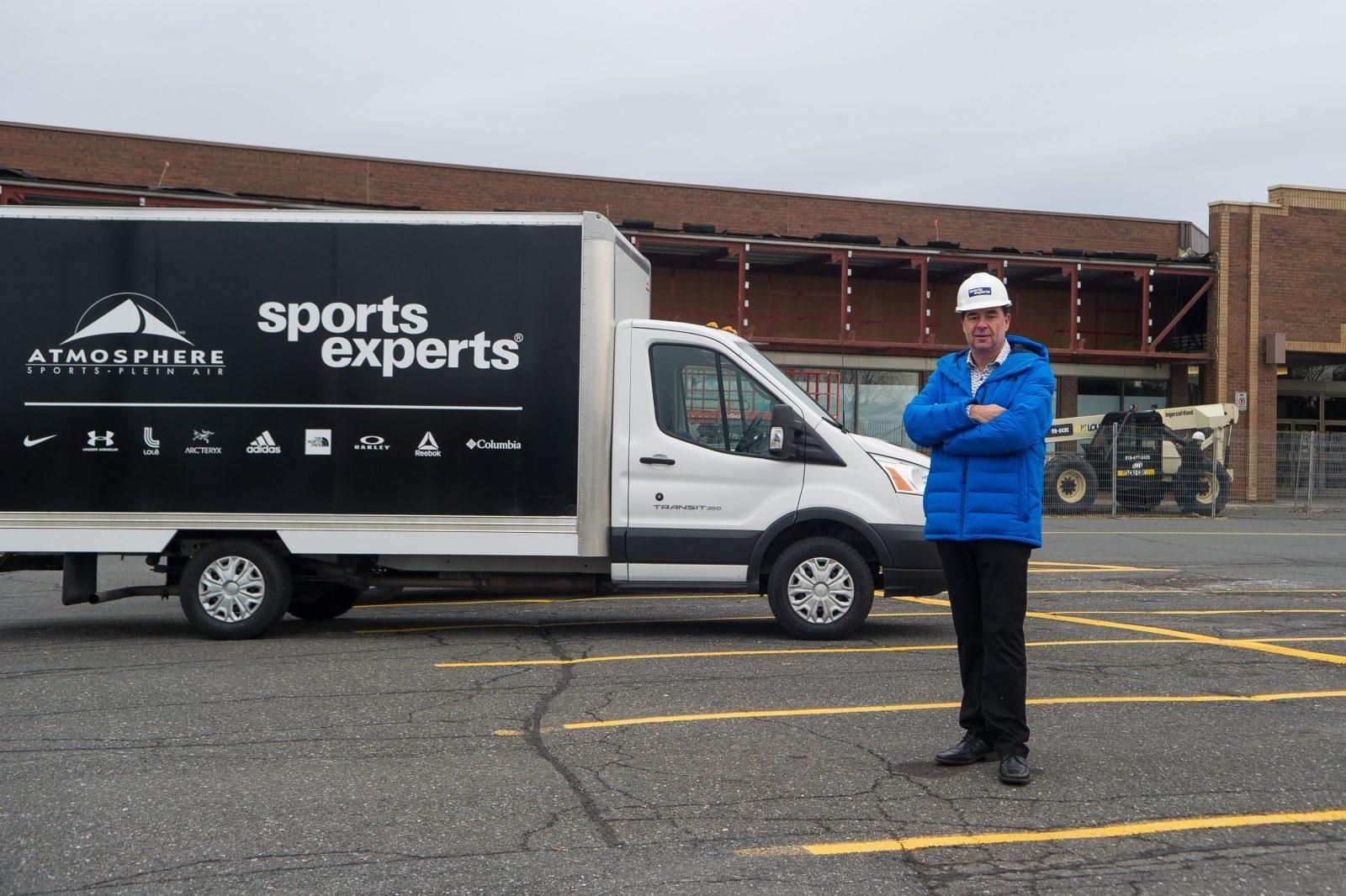Sports Experts déménage dans l'ancien Metro