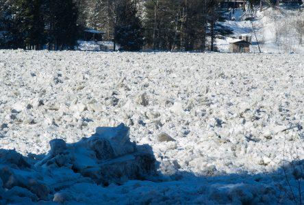 Le niveau de la rivière Saint-François continue de baisser