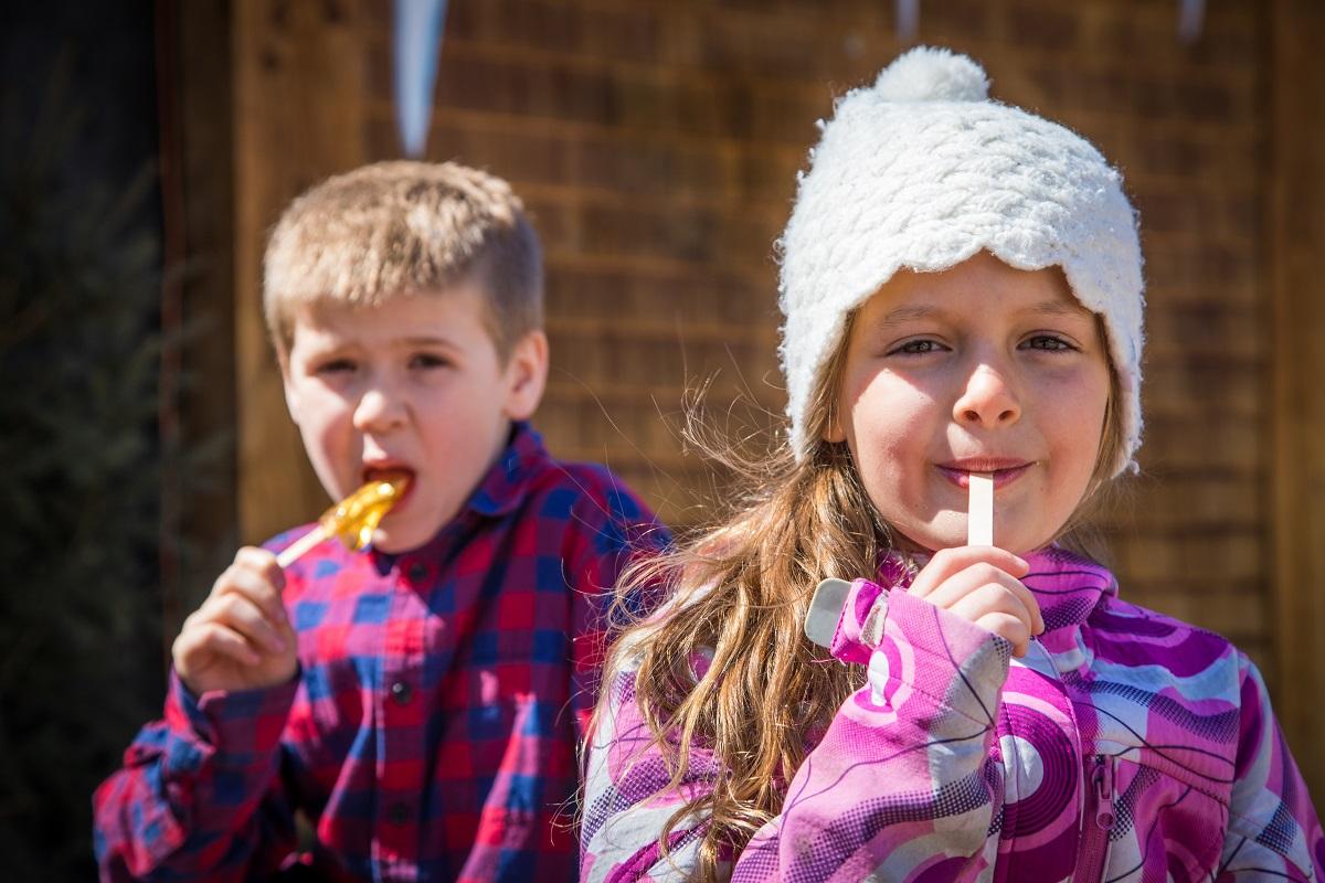Le Village québécois d'antan ajoute une valeur ajoutée au temps des sucres
