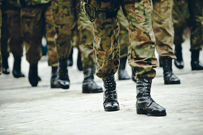 L'armée débarque à Drummondville