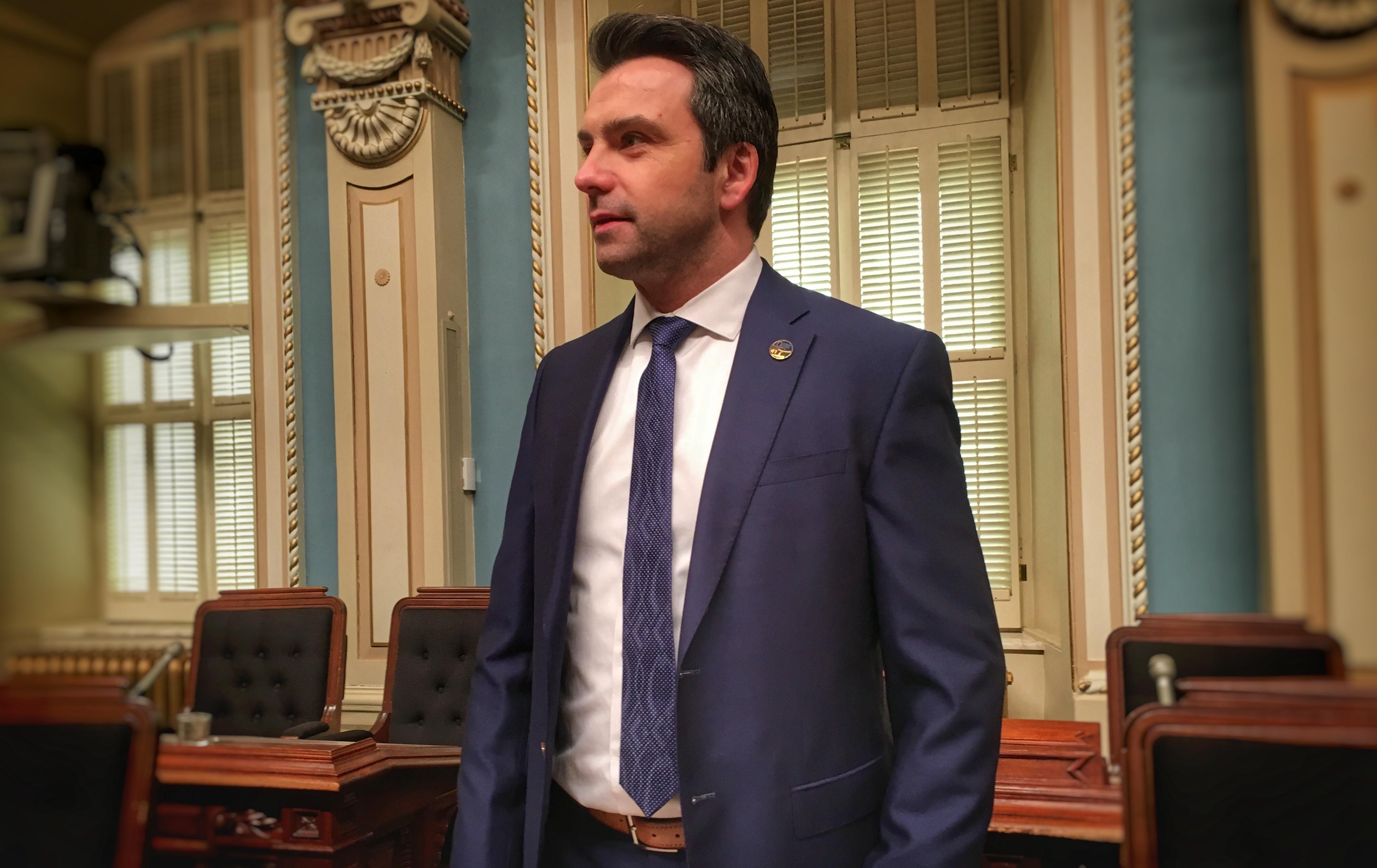 Sébastien Schneeberger désigné leader adjoint du gouvernement
