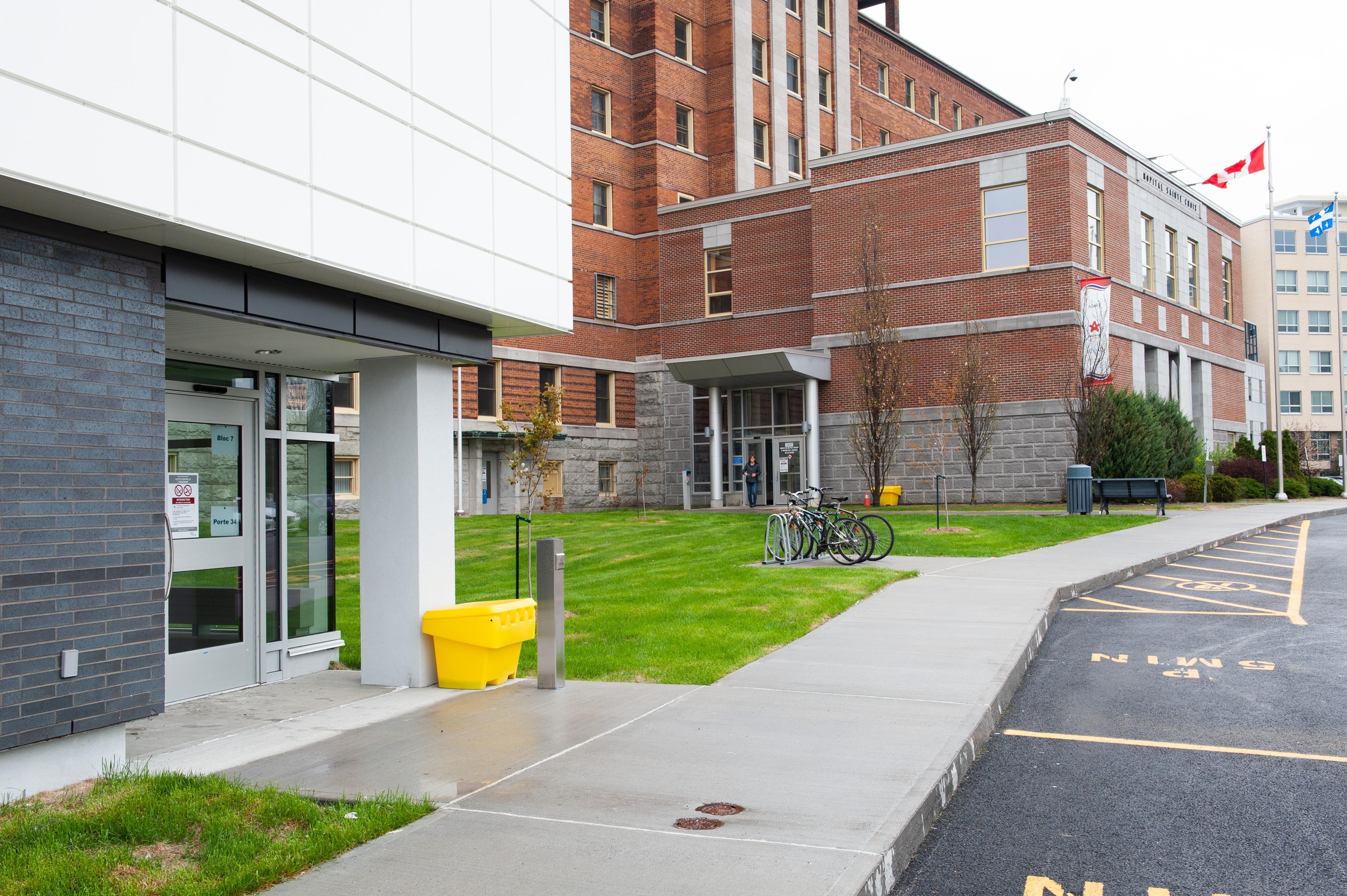 Déménagement du centre de prélèvements de l'hôpital