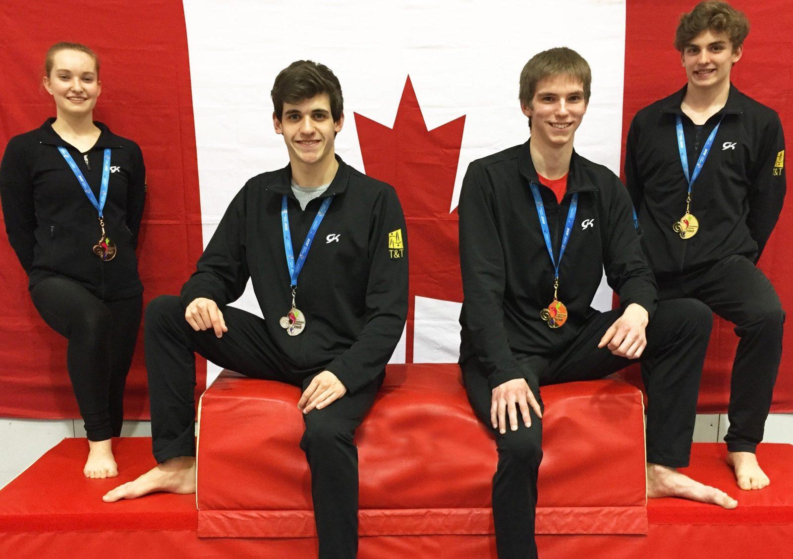 Drummond Gym bien représenté aux championnats canadiens